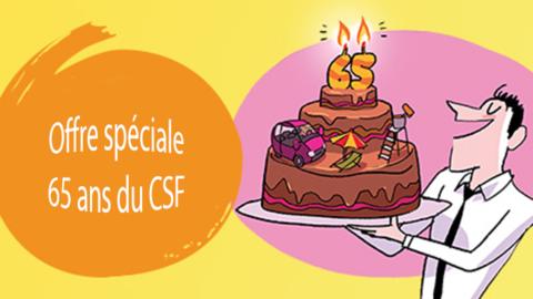 Offre spéciale 65 ans CSF
