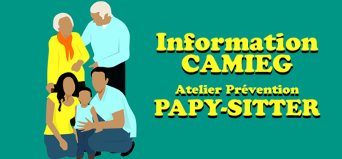 Information CAMIEG – Atelier Papy sitter