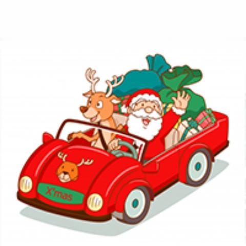 Antenne d'Epinal – Distribution cadeaux de Noël